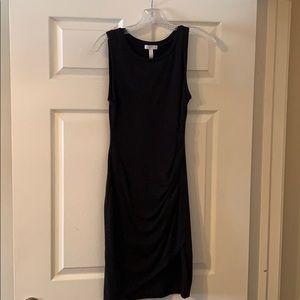 Leith - black T-shirt style dress